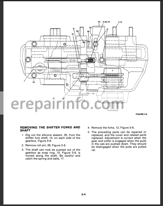 versatile 256 276 276ii service manual tractors Versatile Tractor Wiring Diagram tractor ignition switch wiring diagram